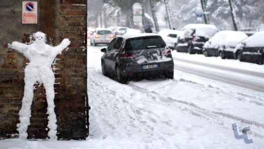 grande nevicata 2012 emergenza neve