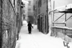 centro storico jesi marche innevato neve