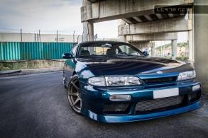 Nissan Silvia s14, servizio fotografico