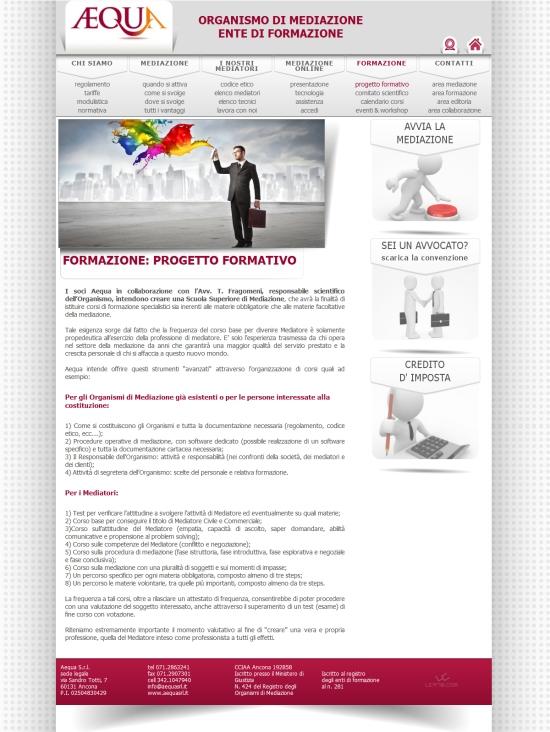 sito aequasrl.it