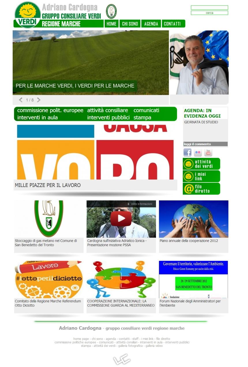 programmazione sito internet regione marche