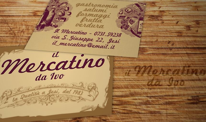 Biglietto da Visita per gastronomia, negozio, alimentari, rosticceria, frutta e verdura....