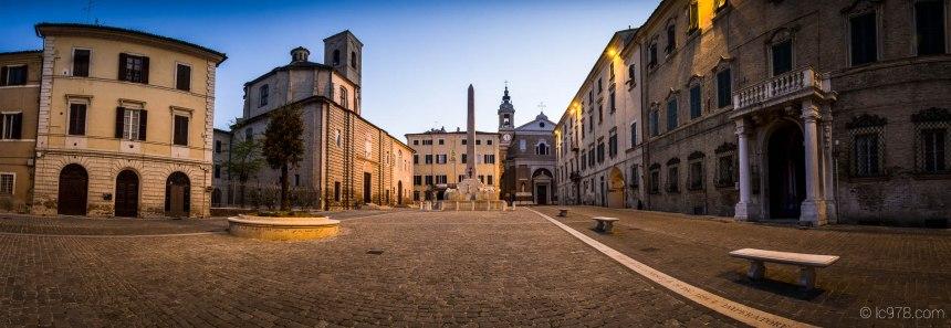 Piazza Federico II, Jesi, provincia di Ancona