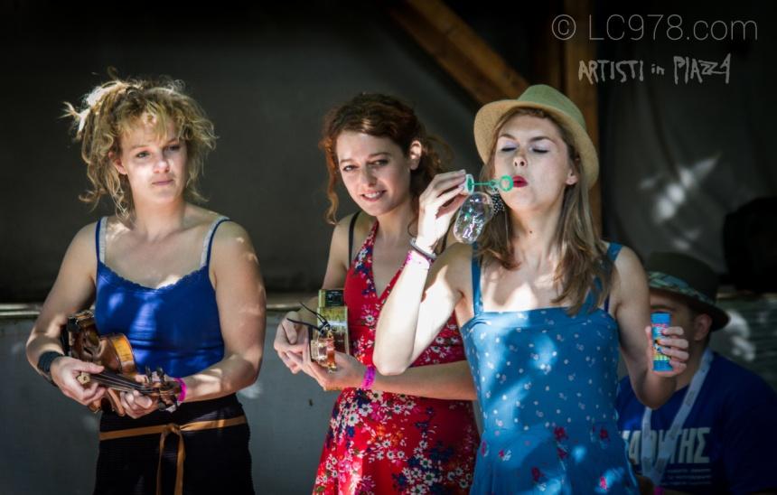 Amarins & le Gatte Negre - artisti in strada, Pennabilli