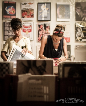 vintage shopping Summer Jamboree foto vintage