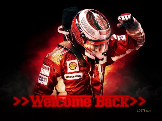 welcome back kimi raikkonen