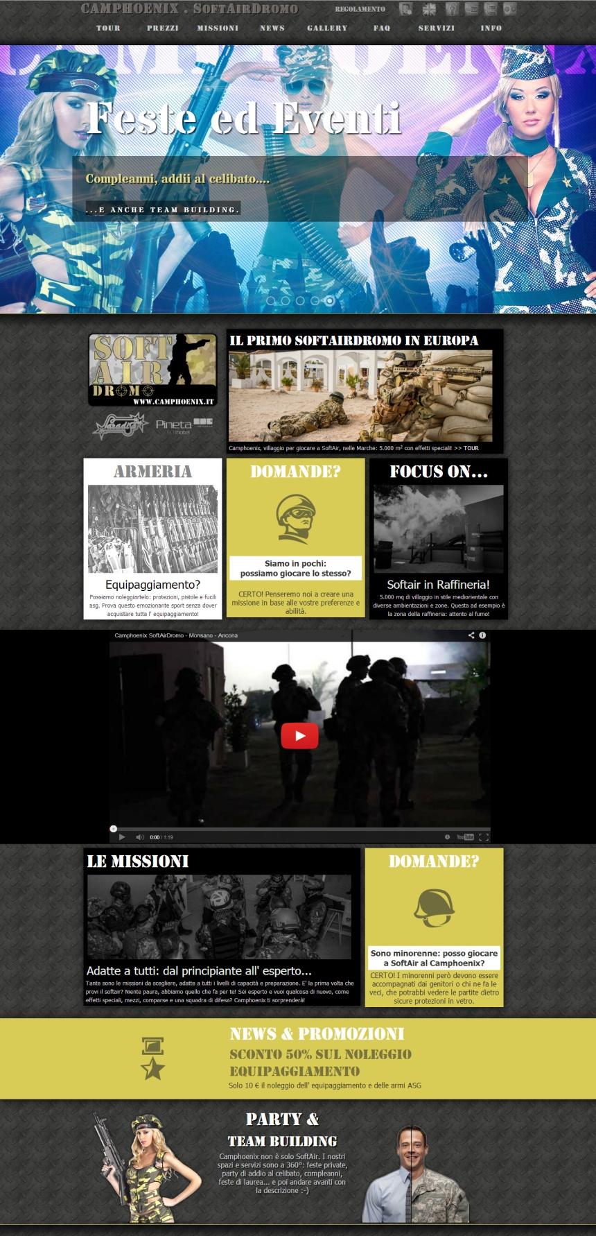 website siti sito internet realizzazione progettazione