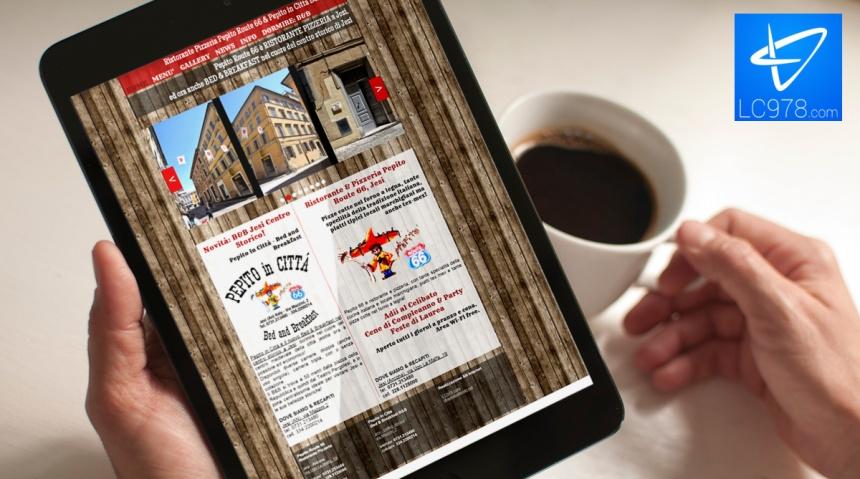 web agency restyling sito jesi ristorante b&b