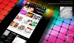 restyling sito internet paradise jesi ancona