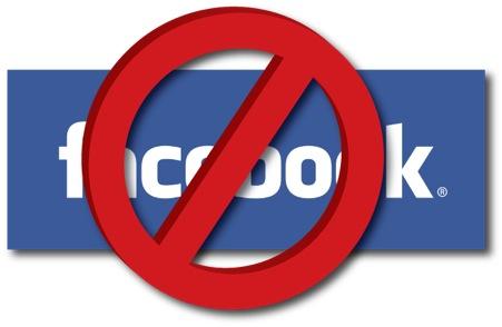 profilo facebook bloccato