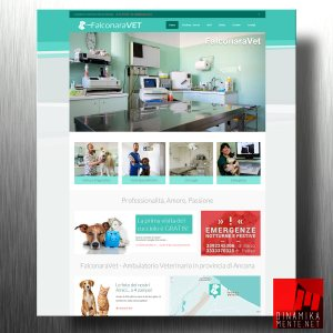 sito web per ambulatorio veterinario
