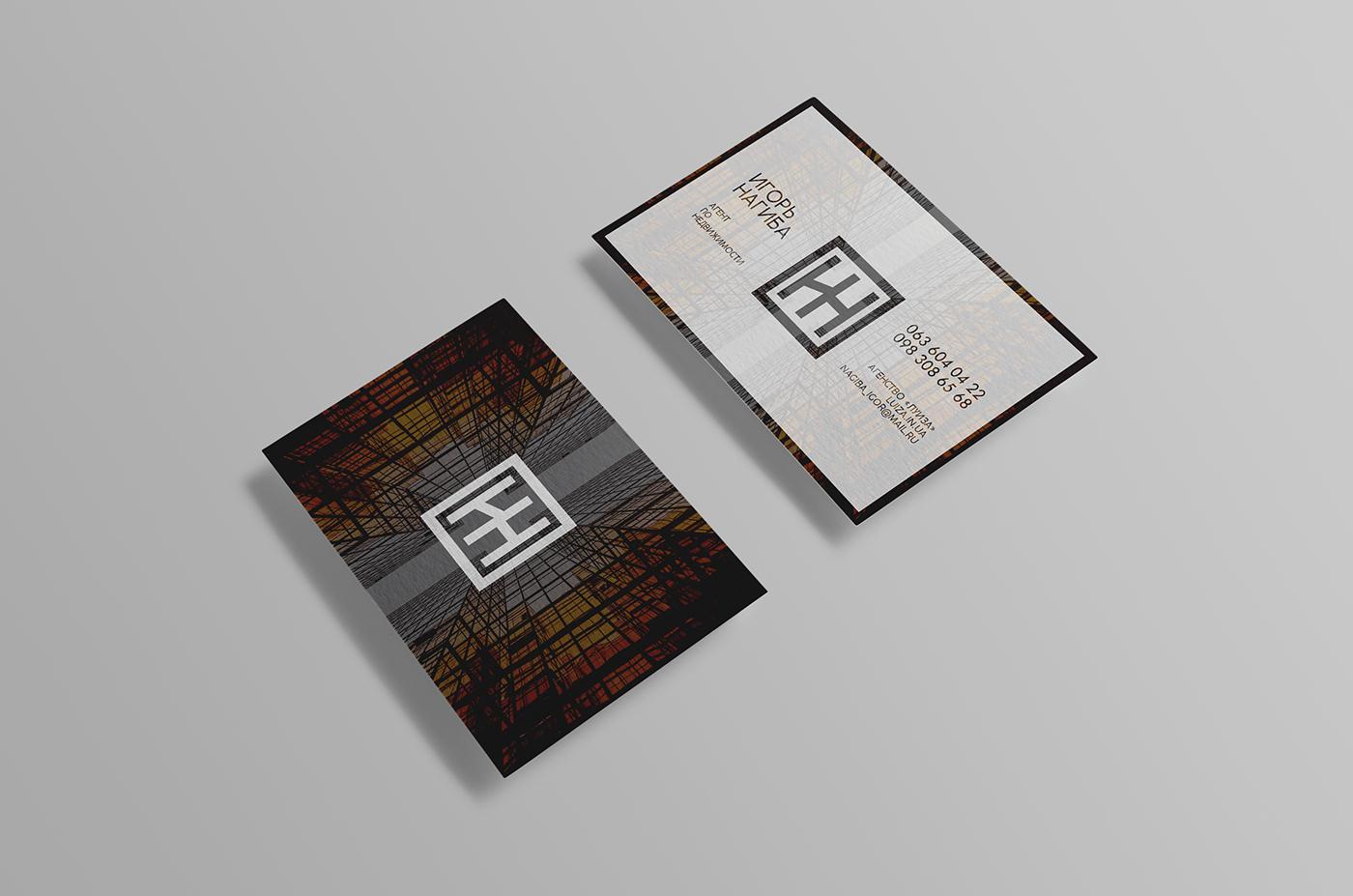 Assez Esempio biglietto da visita per Agente Immobiliare | Luca Centurelli UX72
